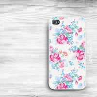 Floral iPhone 5s Case / iPhone 5 Case / iPhone 4s Case / iPhone 4 Case / Samsung Galaxy S3 S4 Case / iPad Case