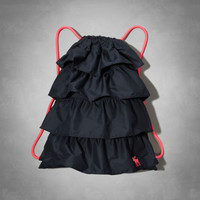 ruffle backpack