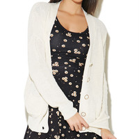 Slouchy Grandpa Cardigan | Wet Seal