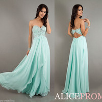 New Sexy Chiffon Evening Party Ball Prom Gown Formal Bridesmaid Cocktail Dresses