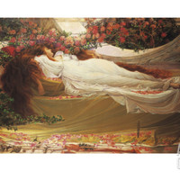 The Sleeping Beauty Giclee Print by Thomas Ralph Spence at Art.com