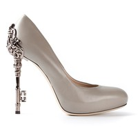 JOHN RICHMOND BLACK LABEL embellished heel pump