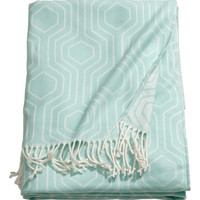 Jacquard-weave Throw - from H&M