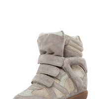 Isabel Marant | Bekett Sneakers in Beige www.FORWARDbyelysewalker.com
