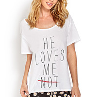 He Loves Me PJ Set