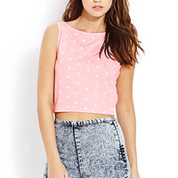 Mod Dots Crop Top