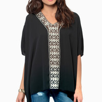 Tryst V Neck Top $54