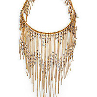 Erickson Beamon - Swarovski Crystal Ballroom Dancing Fringe Necklace - Saks Fifth Avenue Mobile