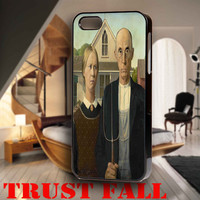 Grant Wood American Gothic for iPhone 4, iPhone 4s, iPhone 5 /5s/5c, Samsung Galaxy S3, Samsung Galaxy S4 Case