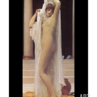 Bath of Psyche Premium Poster by Frederick Leighton at Art.com