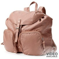 Candie's® Washed Distressed Backpack