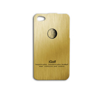 iGolf Phone Case Golf iPhone Case Cute Golfing iPod Case Funny Gold Cover iPhone 4 Case iPhone 4s Case iPhone 5s iPhone 5 Case iPod 4 Case