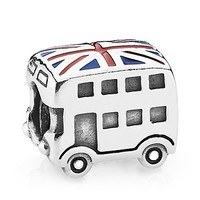 PANDORA Charm - Sterling Silver London Bus