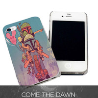 Bobba Fett Child for iPhone 4, iPhone 4s, iPhone 5 /5s/5c, Samsung Galaxy S3, Samsung Galaxy S4 Case
