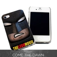 Batman Lego Movie for iPhone 4, iPhone 4s, iPhone 5 /5s/5c, Samsung Galaxy S3, Samsung Galaxy S4 Case