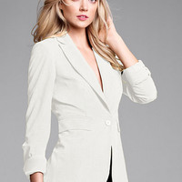 Long & Lean One-button Jacket in Seasonless Stretch - Victoria's Secret