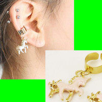 Magic Unicorn Ear Cuff (Single, No Piercing)