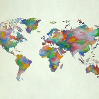 World Art Print by Holly Watson
