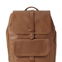 Forever Cool Faux Leather Backpack