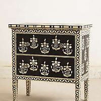 Paisley Inlay Dresser