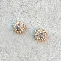 Dazzling Halo Posts [4743] - $13.00 : Vintage Inspired Clothing & Affordable Dresses, deloom | Modern. Vintage. Crafted.