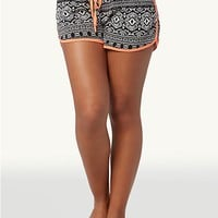 Neon Tribal Retro Shorts