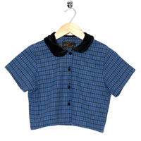 Motel Vintage Andy Blouse Full Check 0024 ONE SIZE
