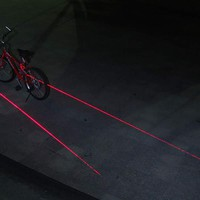 Laser Bicycle Lane @ Sharper Image