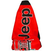 Jeep Towel and Seat Cover, Red SA-T2G100R