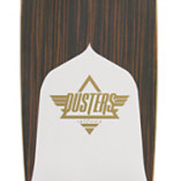 Dusters Channel Ebony Drop Through 34 Longboard Complete
