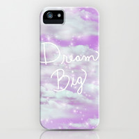 Dream Big - Lavender iPhone & iPod Case by Lisa Argyropoulos
