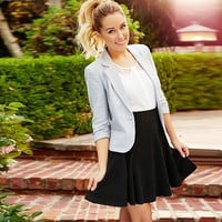 LC Lauren Conrad Blue Mood Look 3