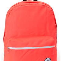 Zine Neon Coral Backpack