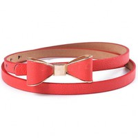 The Red Bowknot Belt - 29 N Under