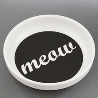 Feline and Dine Dish | Mod Retro Vintage Pet Accessories | ModCloth.com