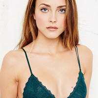 Honeydew Liner Bralette in Green - Urban Outfitters