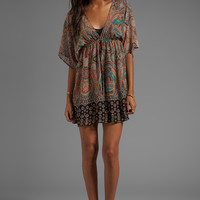 Eight Sixty Kimono Dress in Turkish Paisley