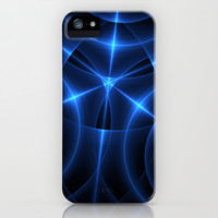 Blue Energy Convergence iPhone & iPod Case by 319media
