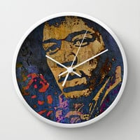 VOODOO CHILD-2 Wall Clock by The Griffin Passant