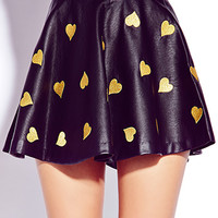 Pretty Tough Faux Leather Skirt