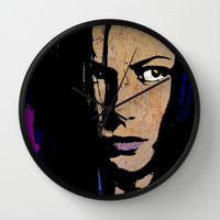SELENE-FOREVER  Wall Clock by The Griffin Passant