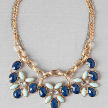 KIRKLAND JEWELED NECKLACE