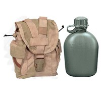 Military Outdoor Clothing Desert MOLLE Canteen/General Purpose Pouch, 1-Quart, Olive Drab