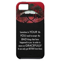 Empowering Quotes sassy Lips iphone5/5 vibe case