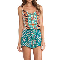 Gypsy 05 X Back Romper in Mandarin from REVOLVEclothing.com
