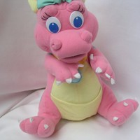 "Dragon Tales Cassie Doll Playskool Pink Toy 13"" Collectible"