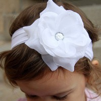 newbown baby toddler girl white christening by preciouslilthings