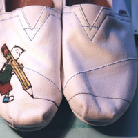 Doug Cartoon TOMs by SparrowBridge on Etsy