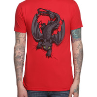 How To Train Your Dragon Night Fury X-ing Slim-Fit T-Shirt