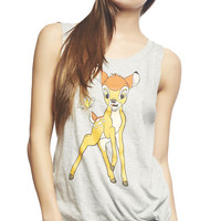 Bambi™ Butterfly Side Tie Tank | Wet Seal